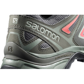 Salomon X Ultra 3 Shoes Women Shadow/Castor Gray/Mineral Red